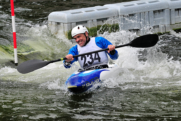 Duncan Berriman - Slalom Rep at Interclub Slalom Finals 2015