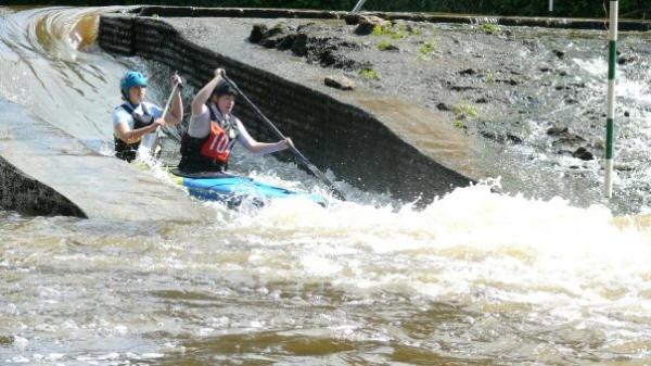 Howsham Weir Slalom 2009