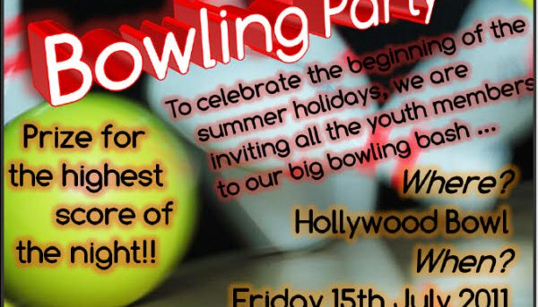 Summer Bowling Party