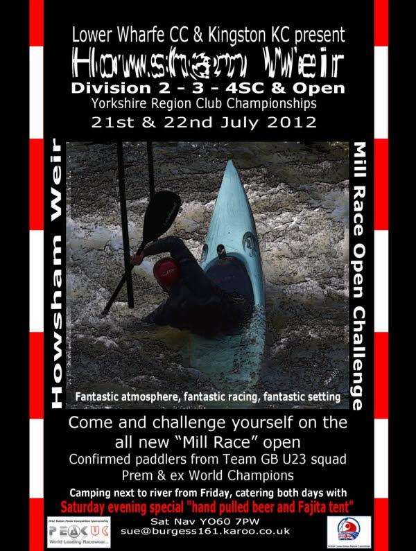 Howsham Weir Slalom 2012
