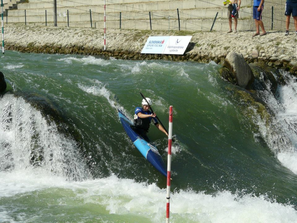 Hannah Burgess racing at Bratislava World Cup 2013